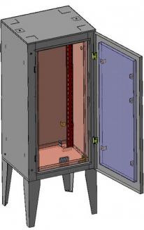 шкаф утепленный обогреваемый КШО