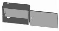 ящик сетевой антивандальный - фото 2